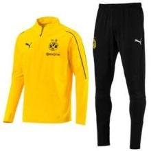 Взрослый черно-желтый костюм Боруссии Дортмунд 18-19