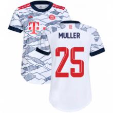 Третья футболка Баварии 2021-2022 Томас Мюллер