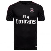 Черная тренировочная футболка ПСЖ 2018-2019