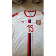 Гостевая футболка сборной Сербии на чемпионат мира 2018