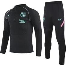 Черный спортивный костюм спортивный Барселоны 2021-2022