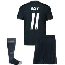 Детская гостевая футбольная форма Гарет Бейл 2018-2019 футболка шорты и гетры