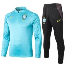 Черно-голубой костюм сборной Бразилии 2021-2022