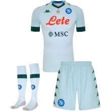 Детская гостевая футбольная форма Наполи 2020-2021