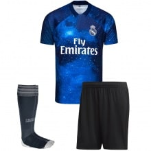 Взрослая космическая форма EA Реал Мадрид 2018-2019 футболка шорты и гетры