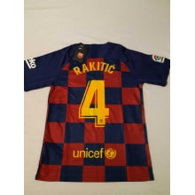 Домашняя футболка Барселоны 2019-2020 Иван Ракитич