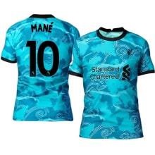 Гостевая футболка Ливерпуля 2020-2021 Садио Мане