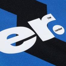 Домашняя игровая футболка Интера Ромелу Лукаку 2020-2021 титульный спонсор