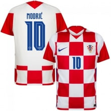 Домашняя футболка Хорватии Лука Модрич ЕВРО 2020-21