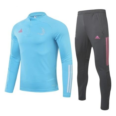 Сине-серый костюм Реал Мадрид 2021-2022