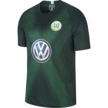 Домашняя игровая футболка Вольфсбурга 2018-2019