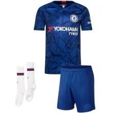 Комплект взрослой домашней формы Челси 2019-2020 футболка шорты и гетры
