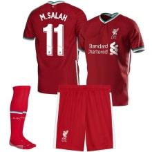 Детская домашняя футбольная форма Салах 2020-2021