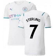 Гостевая футболка Манчестер Сити 21-22 Рахим Стерлинг
