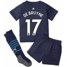 Детская третья футбольная форма Де Брёйне 21-22