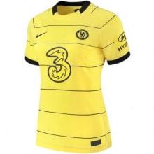 Женская гостевая футболка Челси 2021-2022