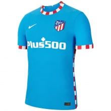 Детский комплект третьей формы Атлетико 2021-2022 футболка
