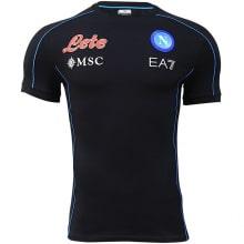 Тренировочная черная футболка Наполи 2021-2022