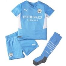 Детская домашняя форма Манчестер Сити 2021-2022