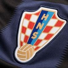 Гостевой комплект детской формы Хорватии на ЧМ 2018 футболка герб сборной