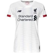 Женская гостевая футболка Ливерпуля 2019-2020