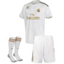 Взрослый комплект домашней формы Реал Мадрид 2019-2020 футболка шорты и гетры