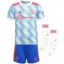 Комплект взрослой гостевой формы Ман Юнайтед 2021-2022
