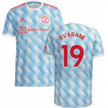 Гостевая футболка Манчестера Варан 2021-2022