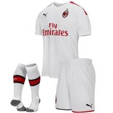 Детская гостевая футбольная форма Милан 2019-2020