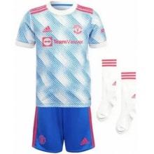 Комплект детской гостевой формы Ман Юнайтед 2021-2022
