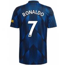 Третья игровая футболка Криштиану Роналду 2021-2022