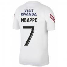 Белая тренировочная футболка MBAPPE ПСЖ 2021-2022