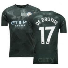 Третья футболка Манчестер Сити 2017-2018 Де Брёйне номер 17