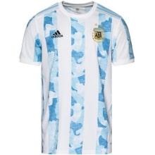 Домашняя аутентичная футболка Аргентины на ЕВРО 2020-21
