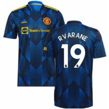 Третья футболка Манчестера Варан 2021-2022