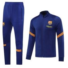 Светло-синий костюм Барселоны 2020-2021