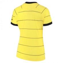 Женская гостевая футболка Челси 2021-2022 сзади