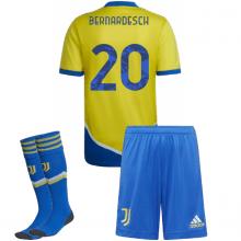 Детская третья футбольная форма Бернардески 2021-2022