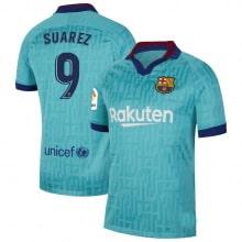 Третья футболка Барселоны 2019-2020 Луис Суарес номер 9