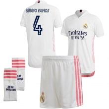Детская домашняя футбольная форма Серхио Рамос 2020-2021
