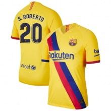 Гостевая футболка Барселоны 2019-2020 Серхио Роберто