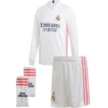 Домашняя форма Реал Мадрид 2020-2021 c длинными рукавами