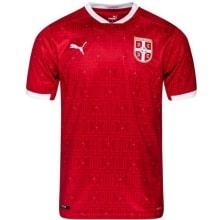 Домашняя футболка сборной Сербии 2020-2021