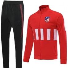 Детский красно-черный костюм Атлетико Мадрид 19-20