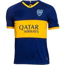 Домашняя футболка Карлос Тевес Бока Хуниорс 2019-2020 спереди