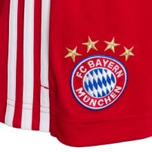 Комплект детской домашней формы Баварии 2020-2021 Левандовски  шорты герб клуба