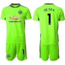 Вратарская зеленая форма Манчестер Юнайтед 20-21