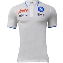 Белая поло футболка Наполи 2021-2022