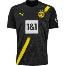 Комплект взрослой гостевой формы Боруссии Дортмунд 2020-2021 футболка