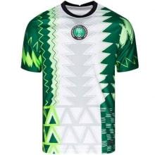 Домашняя футболка сборной Нигерии 2021-2022